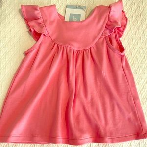 NWT Bella Bliss hot pink Tatum pima shirt